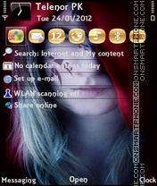 Anna Golden tema screenshot