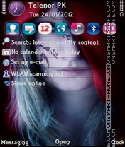 Shiney Anna theme screenshot