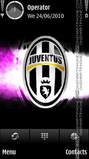 Juventus tema screenshot