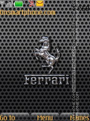 Ferrari With Ringtone tema screenshot