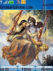 Lord Krishna 08 theme screenshot