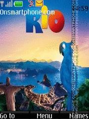 Capture d'écran Rio 07 thème