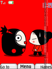 Pucca And Garu 01 Theme-Screenshot