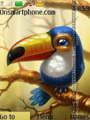Blue Toucan theme screenshot