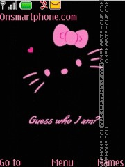 Hello Kitty 39 tema screenshot