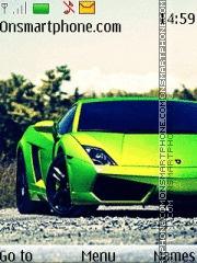 Скриншот темы Lamborghini Gallardo 08
