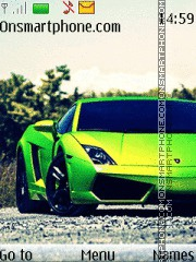Lamborghini Gallardo 08 theme screenshot