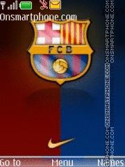 FC Barcelona 24 theme screenshot
