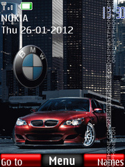 Bmw 10 theme screenshot