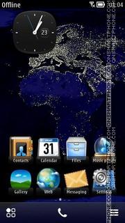 Capture d'écran World 05 thème