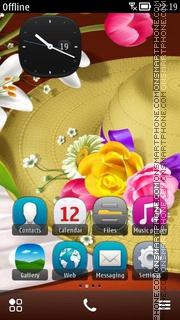 Скриншот темы Sombrero