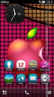 Apple Logo 02 theme screenshot