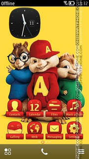 Alvin And The Chipmunks 02 theme screenshot
