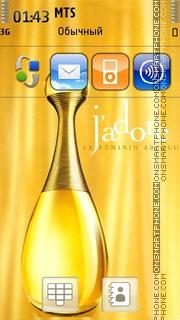 Скриншот темы Dior Jadore Perfume