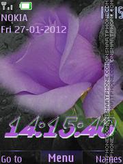 Violet(AR) theme screenshot