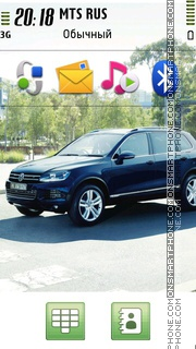 Volkswagen Touareg 2014 theme screenshot