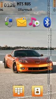 Corvettes Z06 Theme-Screenshot
