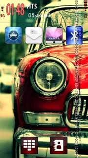 Old School Car theme screenshot