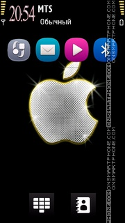 Diamond Apple es el tema de pantalla