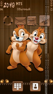Chip and Dale 03 tema screenshot