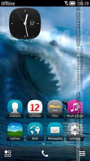 Sharkattack theme screenshot