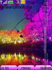 Colourful Landscape theme screenshot