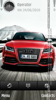 Audi rs5 theme screenshot