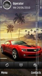 Скриншот темы Chevrolet