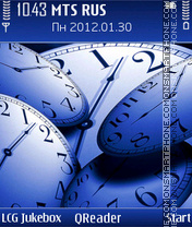 Time theme screenshot