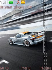 Sport Car 07 theme screenshot