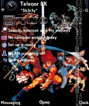 ThunderCats theme screenshot