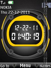 Sport Clock theme screenshot