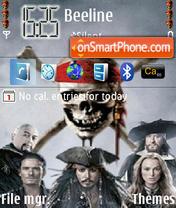 Pirates King theme screenshot