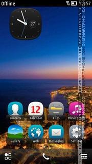 Rio De Janeiro theme screenshot
