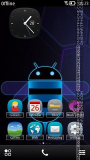 Beedroid - Android theme screenshot