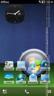 Vista Green 04 es el tema de pantalla