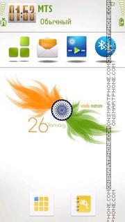 Happy Republic Day es el tema de pantalla