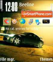 Nissan theme screenshot