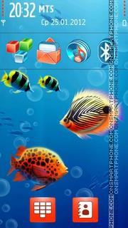 Aquaworld theme screenshot