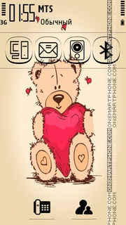 Be My Valentine 04 theme screenshot