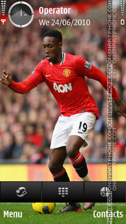 Danny Welbeck theme screenshot