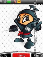 Ninja 03 es el tema de pantalla