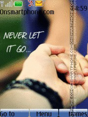 Never Let Go theme screenshot