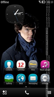 Sherlock 01 theme screenshot