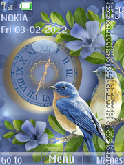 Birdies theme screenshot