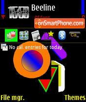 Colours yI theme screenshot