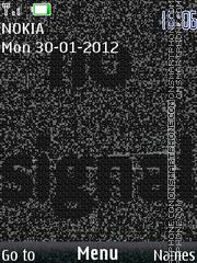 Скриншот темы No signal 01