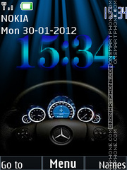 Speedometer 05 tema screenshot