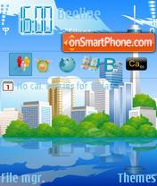 City 02 theme screenshot