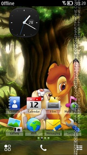 Bambi 05 theme screenshot